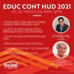 Educ Cont con REIRE: HUD.  ¡Seguimos impactando!